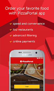 screenshot of PizzaPortal - Takeaway Food version 5.4.2