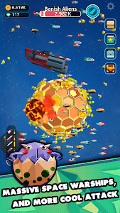 screenshot of Planet Overlord version 1.13