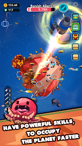 screenshot of Planet Overlord version 1.15