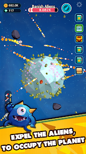 screenshot of Planet Overlord version 1.11