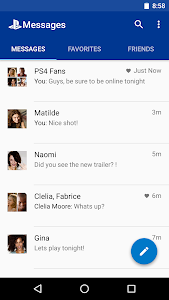 screenshot of PlayStation®Messages version 3.60.19.6461
