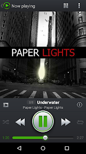 screenshot of PlayerPro Music Player version 3.6