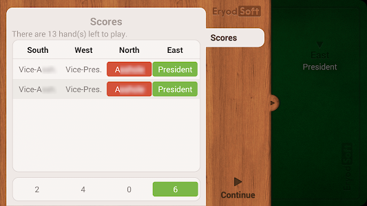 screenshot of President - Card Game - Free version 2.2.3