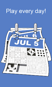 screenshot of Puzzle Page version 2.31