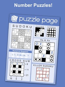 screenshot of Puzzle Page - Crossword, Sudoku, Picross and more version 3.01