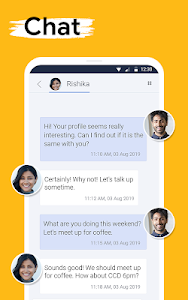 screenshot of QuackQuack Dating App version 5.8.2