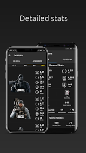 screenshot of R6 Squad: Track your Squad for Rainbow Six Siege version 1.0.0