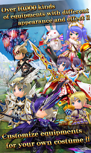 screenshot of RPG Elemental Knights R (MMO) version 4.4.9
