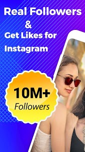 screenshot of Real Followers & Get Likes for Instagram version 1.7