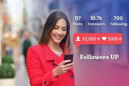 screenshot of Real Followers & Get Likes for Instagram version 1.5