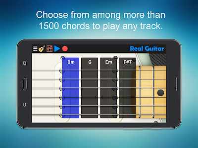 screenshot of Real Guitar - Guitar Playing Made Easy. version 6.6
