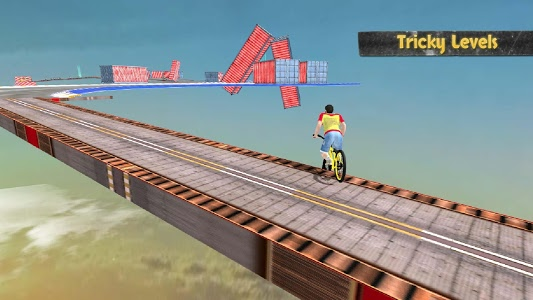 screenshot of Reckless Rider version 4.1