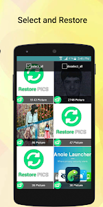 screenshot of Recover Deleted Images version 3.1