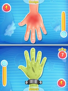 screenshot of Red Hand slap: 2 player game version 1.0.0