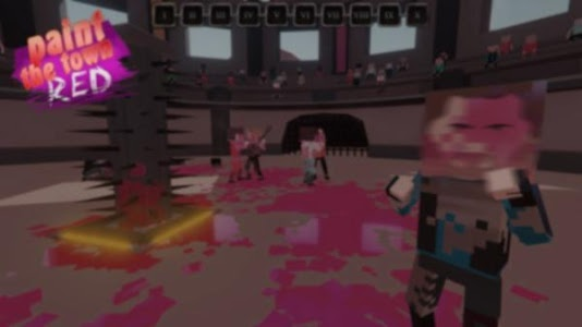 screenshot of Red Town Game version 3.0