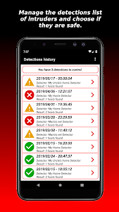 screenshot of RedBox - Network Scanner version 1.7.2