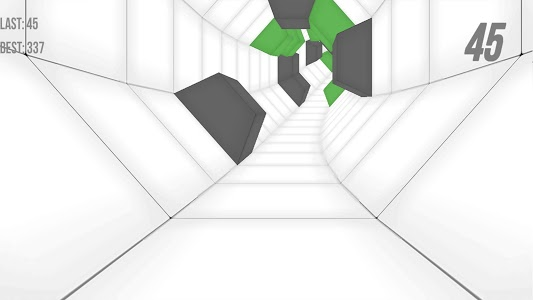 screenshot of RushTheTunnel version 1.0