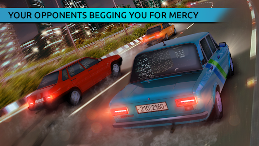 screenshot of Russian Racing: Street Extreme on Russian Cars version 1.0