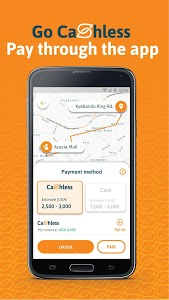 screenshot of SafeBoda version 3.2.5