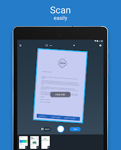 screenshot of Scanner App for Me: Scan Documents to PDF version 1.25.0