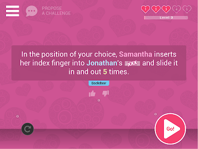 screenshot of Sex Game for Couple \u2764\ufe0f Naughty, Dirty & Hot! version 2.0.8