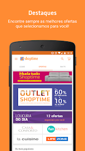 screenshot of Shoptime version 2.33.0