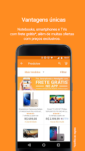 screenshot of Shoptime - Loja virtual com ofertas da TV version 2.54.0