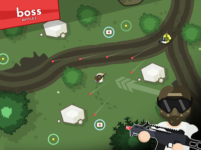 screenshot of Silo's Airsoft Royale version 1.02