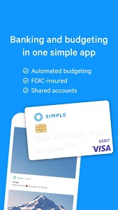 screenshot of Simple - Mobile Banking and Budgeting App version Varies with device