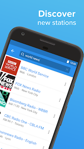 screenshot of Simple Radio - Free Live FM AM version Varies with device