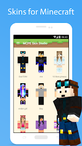 screenshot of Skins for Minecraft version 2.1.4