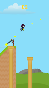 screenshot of The Catapult Slingshot Ninja version 1.0
