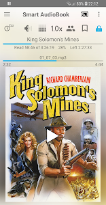 screenshot of Smart AudioBook Player version Varies with device