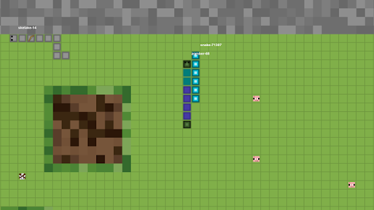 screenshot of Snacraft.io - Multiplayer Snake version 1.5