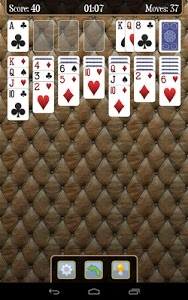 screenshot of Solitaire version 3.6.6