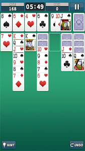 screenshot of Solitaire King version 19.09.11
