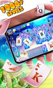 screenshot of Solitaire Ocean Adventure version 1.5.6