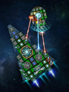 screenshot of Space Arena: Build & Fight version 2.1.10
