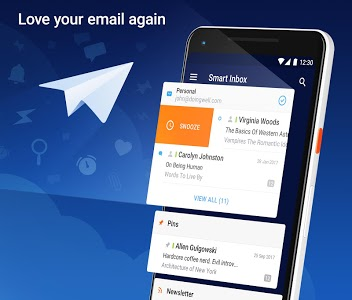 screenshot of Spark – Email App by Readdle version 2.0.5