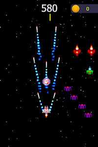 screenshot of Spatial Wars version 2