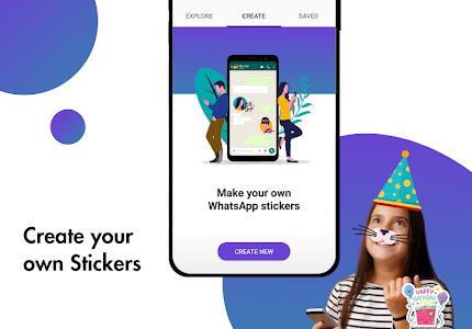 screenshot of Stickify: Top Stickers for WhatsApp version 3.5.0
