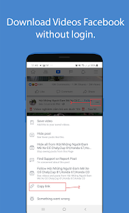 screenshot of Story Saver for Facebook version 3.8