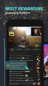 screenshot of StreamCraft - Live Stream Games & Chat version 2.2.0 (4864)