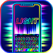 Download Super Neon 3d Keyboard Theme 1.0 APK