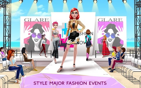 screenshot of Super Stylist - Dress Up & Style Fashion Guru version 1.3.08