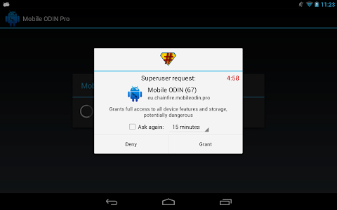 screenshot of SuperSU version 2.65