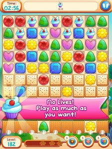 screenshot of Sweet Candies 2 - Cookie Crush version 1.3.4