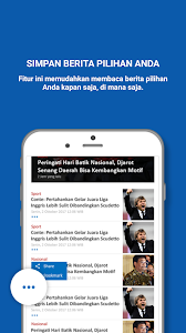 screenshot of TRIBUNnews version 2.2