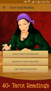 screenshot of Tarot Card Reading & Horoscope version 5.2