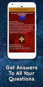 screenshot of Tarot Card Reading - Love & Future Daily Horoscope version 8.8